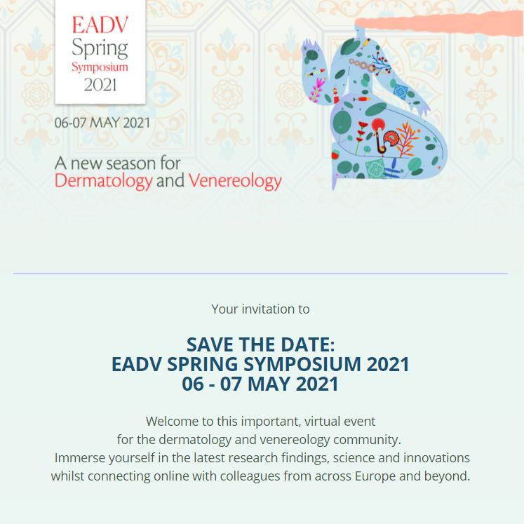 EADV SPRING SYMPOSIUM 2021