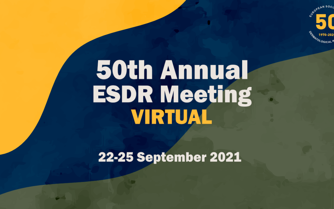 ESDR 2021 MOVES TO VIRTUAL