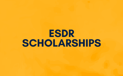 The ESDR offers Scholarships and grants consisting of free registration to ESDR 2021