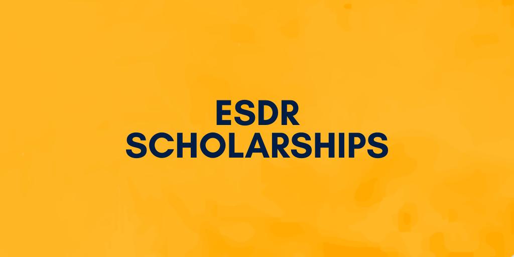 EDSR SCHOLARSHIPS